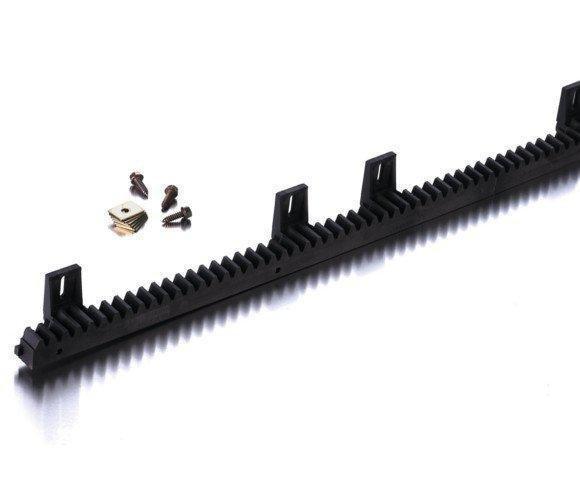 Kunststoffzahnstange mit Stahlkern